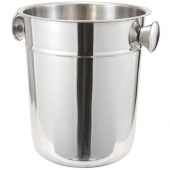 Winco - Wine Bucket, 8 Quart Stainless Steel