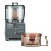 Waring - Pro Prep Chopper Grinder with 1 Chopping Bowl and 1 Grinding Bowl, 5x10x8.5