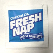 Wetnap Napkin, Individually Wrapped