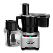 Waring - Food Processor, 4 Quart Combination Bowl Cutter Mixer and Continuous Feed Processor with Li