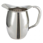 Winco - Bell Pitcher, 2 Quart Stainless Steel