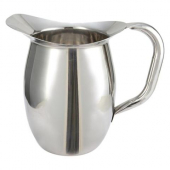 Winco - Bell Pitcher, 3 Quart Stainless Steel