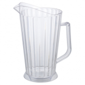 Winco - Beer Pitcher, 60 oz Clear PC Plastic