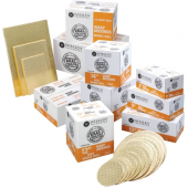 Cake Pad Wrap Around, Quarter Sheet Gold Double Wall