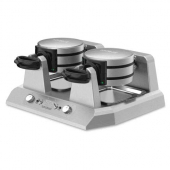 Waring - Belgian Waffle Maker, Quad Side-by-Side with Independent Controls, 208v Commercial