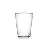 Fineline Settings - Quenchers Shot Glass, 1 oz Clear Plastic