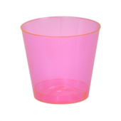 Fineline Settings - Quenchers Shot Glass, 1 oz Red Plastic