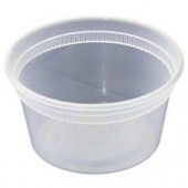 Deli Container with Lid, 12 oz Plastic