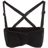 Back Support, Extra Large, Elastic Back Panel, Velcro Material Front Panels with Wide Detachable Ela
