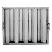 Winco - Hood Filter, 20x16 Stainless Steel